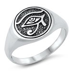 Silver Toe Ring - Eye of Horus - $4.40