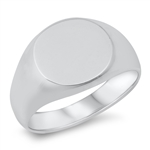Silver Ring - Signet - $8.76