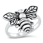 Silver Ring - Bumble Bee - $8.43