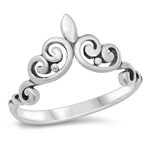 Silver Ring - Crown - $3.73