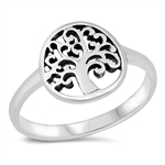 Silver Ring - Tree of Life - $3.25