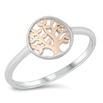 Silver Ring - Tree of Life - $3.64