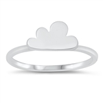 Silver Ring - Cloud - $3.29