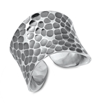 Silver Ring - Hammered - $13.41