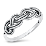 Silver Ring - Celtic Knot - $3.40