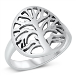 Silver Ring - Tree of Life - $5.09