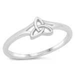 Silver Ring - Celtic Triquetra - $2.88