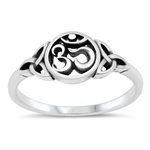 Silver Ring - Om Celtic - $4.04