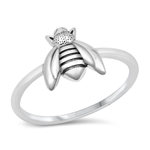 Silver Ring - Bumble Bee - $3.39