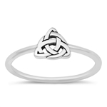 Silver Ring - Celtic Triquetra - $2.73