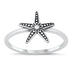 Silver Ring - Starfish - $2.82
