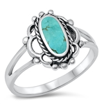 Silver Ring W/ Stone - $6.58