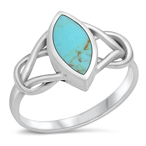 Silver Ring W/ Stone
