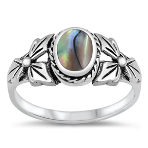 Silver Ring W/ Stone - $5.79