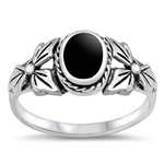 Silver Ring W/ Stone - $6.54