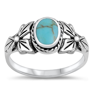 Silver Ring W/ Stone - $5.84