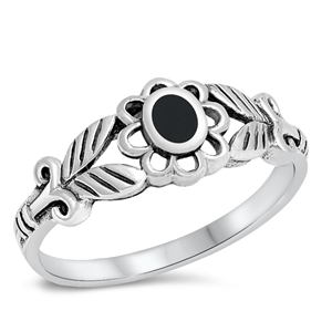Silver Ring W/ Stone - $4.69