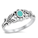 Silver Ring W/ Stone - $4.58