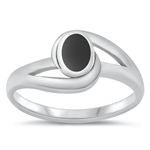 Silver Ring W/ Stone - $4.30