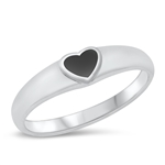 Silver Ring W/ Stone - $4.75