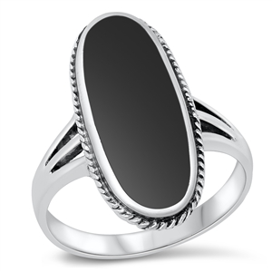 Silver Ring W/ Stone - $9.32
