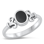 Silver Ring W/ Stone - $4.64