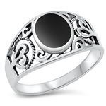 Silver Ring W/ Stone - $7.76