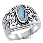 Silver Ring W/ Stone - $10.45