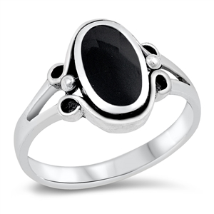 Silver Ring W/ Stone - $6.73
