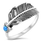 Silver Ring - Feather - $6.45