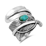 Silver Ring - Feather - $14.35