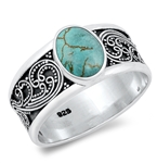 Silver Stone Ring - $10.99