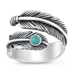 Silver Ring - Feather - $9.58