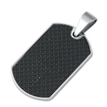 Steel Pendant - ID Dog Tag