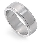 Stainless Steel Ring  -  $2.63