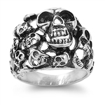 Stainless Steel Ring - Skull  -  $3.94