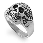 Stainless Steel Ring - Skull  -  $3.84
