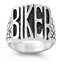 Stainless Steel Ring - Biker