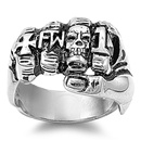 Stainless Steel Ring  -  $5.1