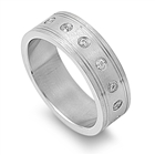 Stainless Steel Ring - $5.25