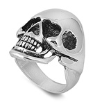 Stainless Steel Ring - Skull - $4.61