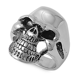Stainless Steel Ring - Skull Head - $4.84