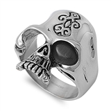 Stainless Steel Ring - Skull Head - $5.04