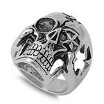 Stainless Steel Ring - Skull Head -  $4.74