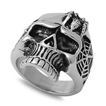 Stainless Steel Ring - Skull - $5.21