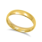 Stainless Steel Ring - Wedding band - Comfort Fit - $1.28