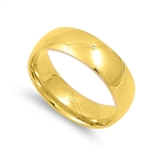 Stainless Steel Ring - Wedding band - Comfort Fit - $1.26