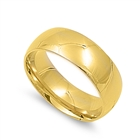 Stainless Steel Ring - Wedding band - Comfort Fit - $1.31