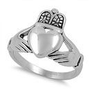 Stainless Steel Ring - Claddagh - $3.66