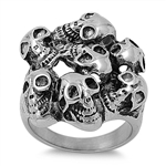 Stainless Steel Ring - Skull - $4.70